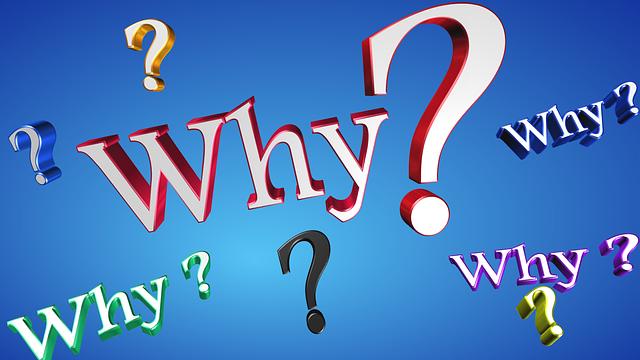 WHYの文字