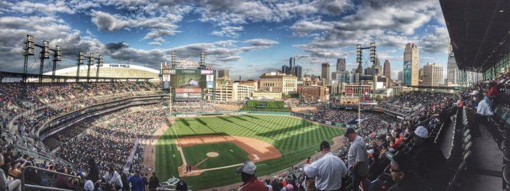 野球スタジアム風景