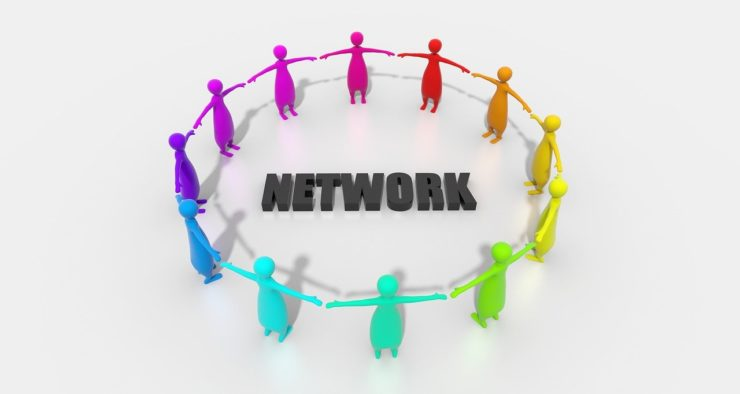 networkのテキストを囲む画像