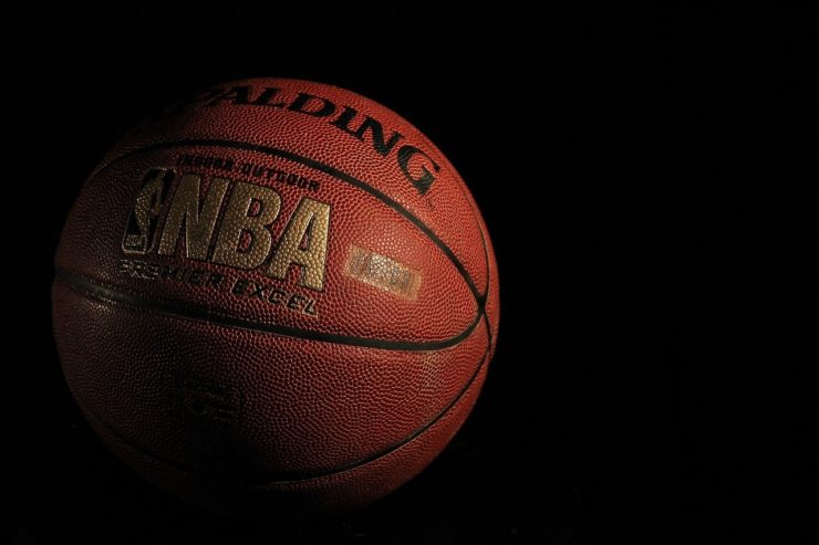 NBAのバスケットボール